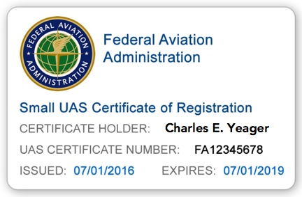 FAA UAS Registration